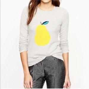 J Crew Pear Sweater XXS